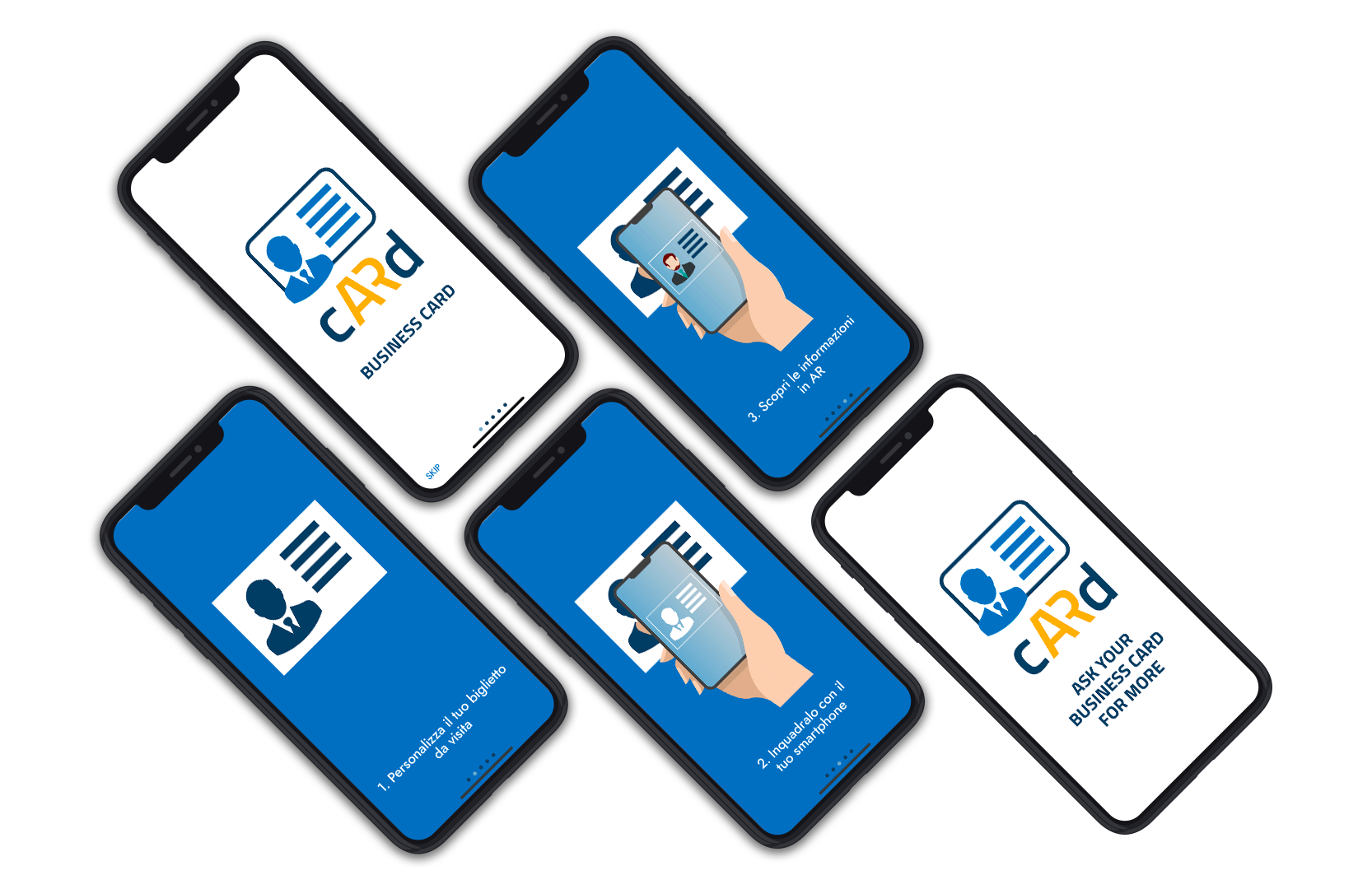 Overview of Business cARd app